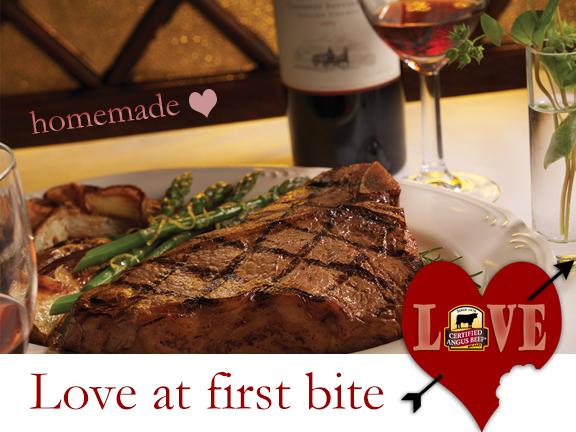Certified Angus Beef brand Porterhouse steak for two