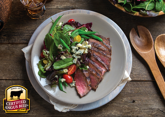 Steak salad slimdown