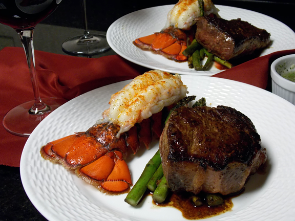 Surf and Turf - classic, elegant, simple - Go Rare