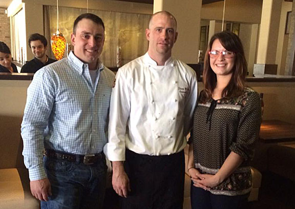 Chef Shawn of Rosewood Grill in Strongsville, Ohio