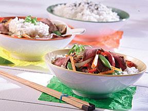 Beef and Garden Vegetable Stir Fry