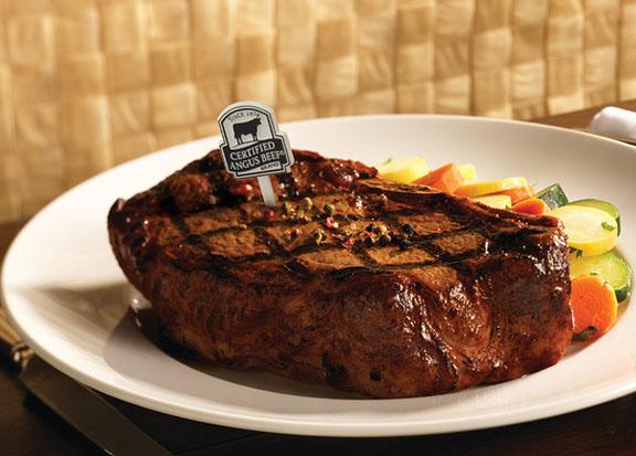 Seasoning steaks