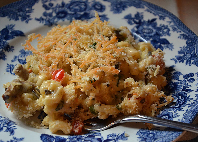 Gourmet mac-n-cheese at home