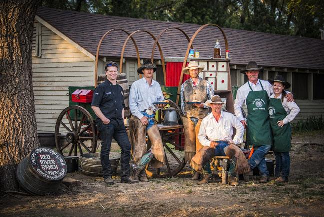 Kent Rollins, the Chuck Wagon Cook of Oklahoma