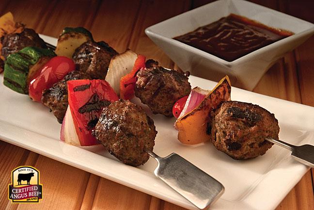 Meatball Kabobs