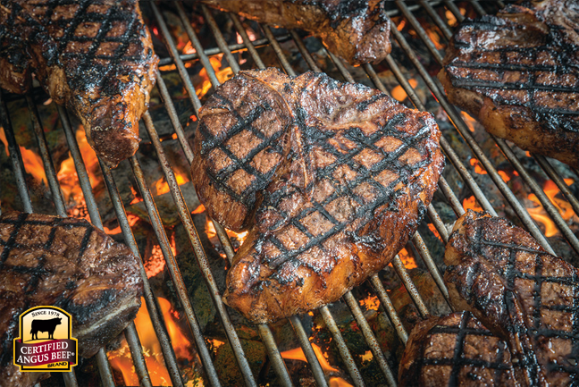 Add a spicy rub to your steaks for super flavor!
