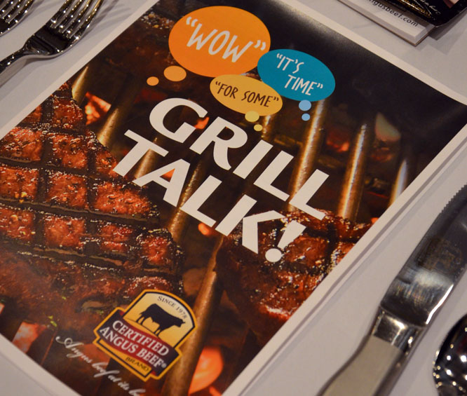 Certified Angus Beef LLC Grill Talk Cooking Class