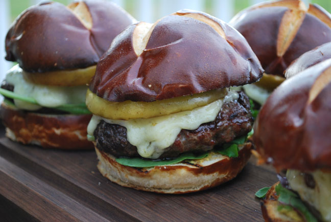 Recipes from the new Weber® Big Book of Burgers Cookbook