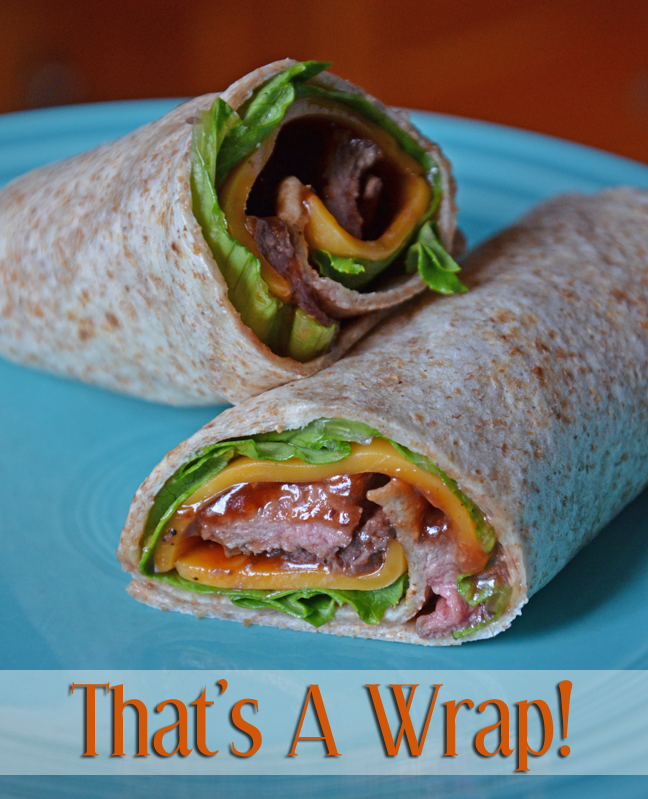 Beef wraps for healthy, protein-packed summer lunches!