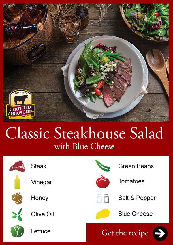 Classic Steakhouse Salad with Blue Cheese