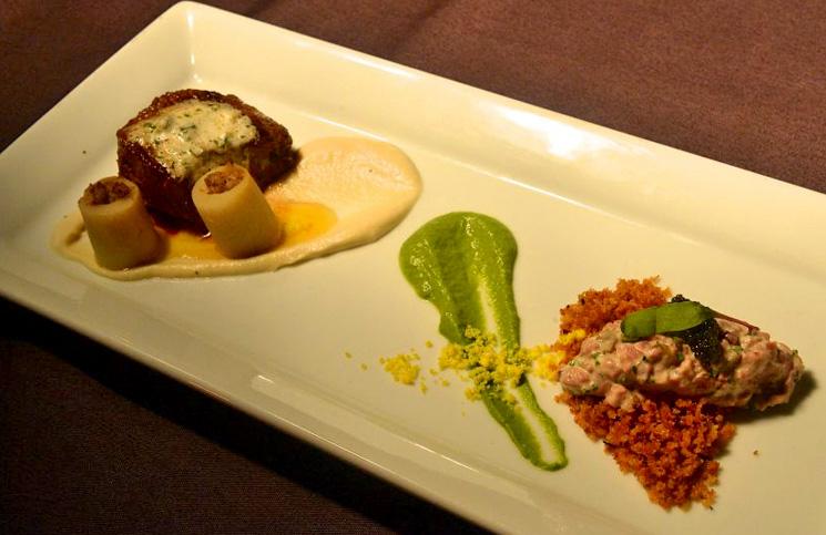 Dinner at Marco Island #beefonthebeach