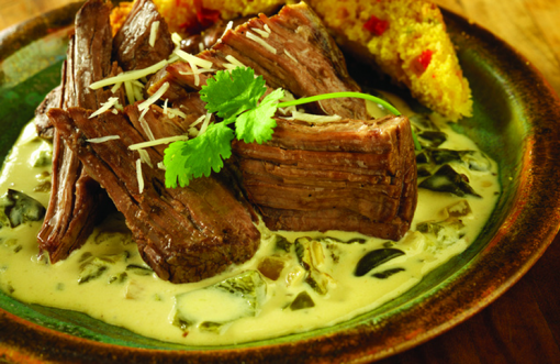 Braised Chuck Roast with Pepper Sauce