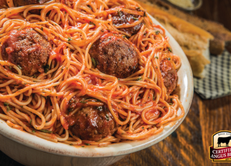 Classic Meatballs are thick and tender, beefy and bursting with flavor. Try this recipe from the Certified Angus Beef brand kitchens.