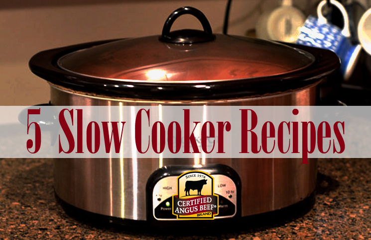 5 Slow Cooker Recipes