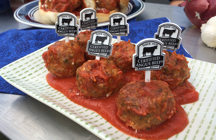 Meatballs are the perfect football food.