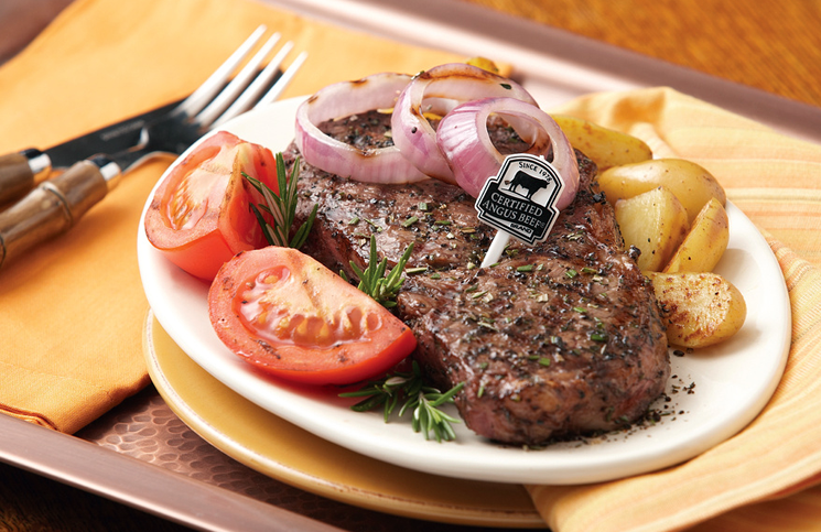 Mediterranean Rub Steak