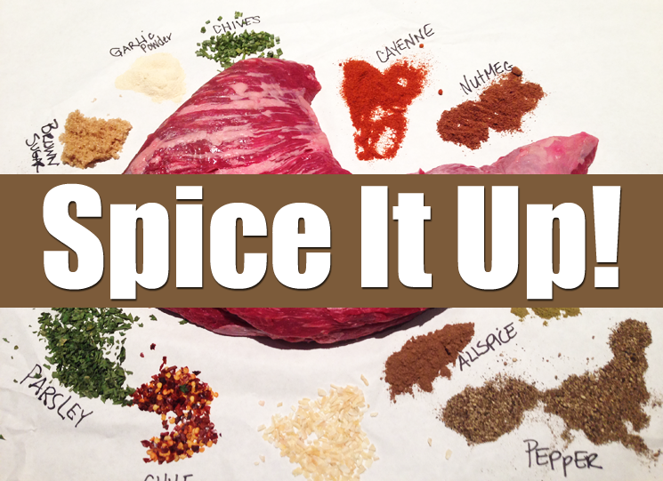 Chef Tony's jerk spice recipe for beef tri-tip.