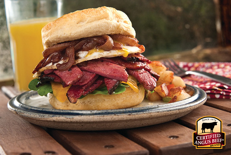 Corned Beef Biscuit