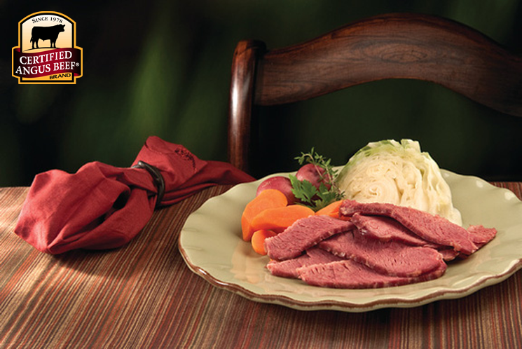 Cooking with corned beef