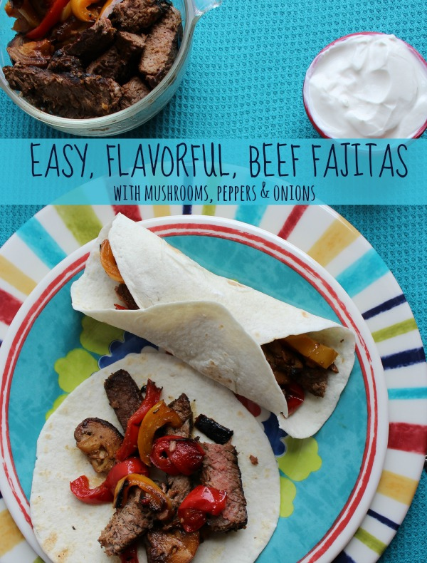 Easy Flavorful Beef Fajitas