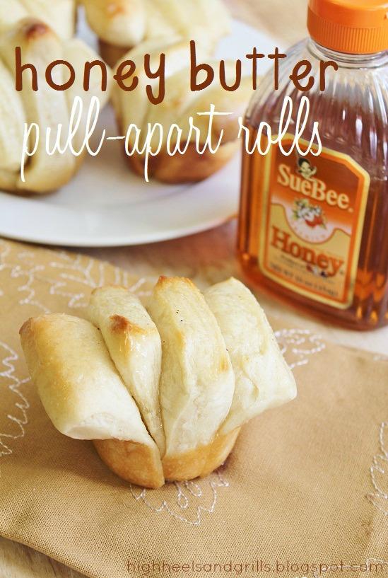 Honey Butter Pull Apart Rolls