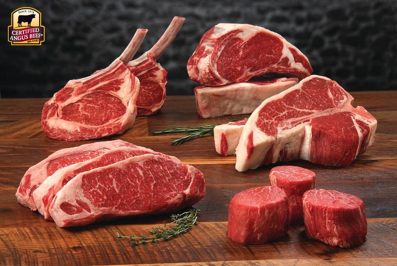 Certified Angus Beef brand steaks