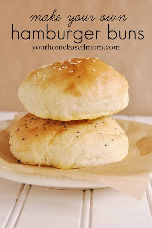 Making your own hamburger buns is really easy, says Leigh Anne from ...