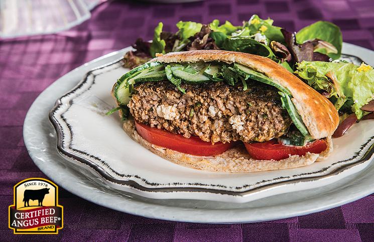 Athena's Favorite Burger
