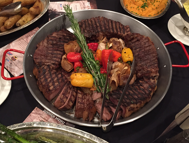 Food and Wine Conference Sunday Supper Celebration Dinner featuring Certified Angus Beef