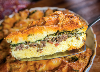 Breakfast Beef & Bacon Casserole