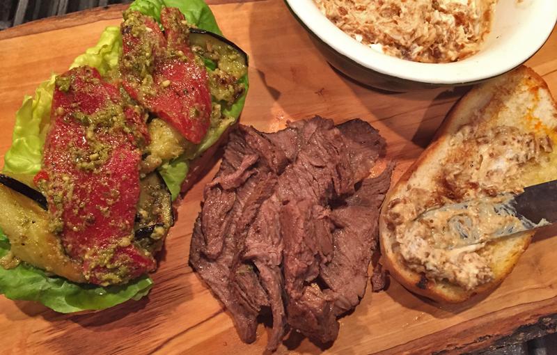 The Italian Steak Sandwich