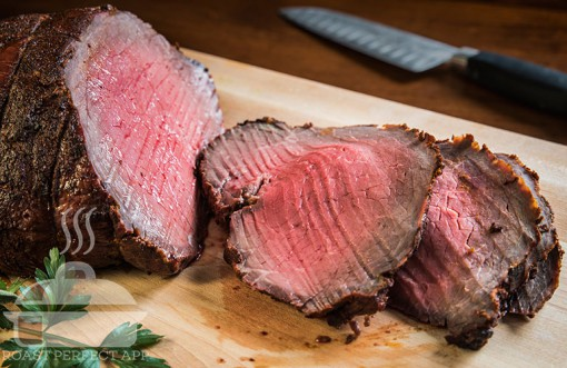 Southwestern Top Sirloin Roast - made using the Roast Perfect app