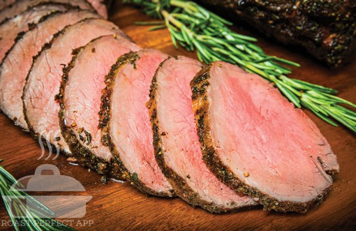 Cider Marinated Top Sirloin Roast