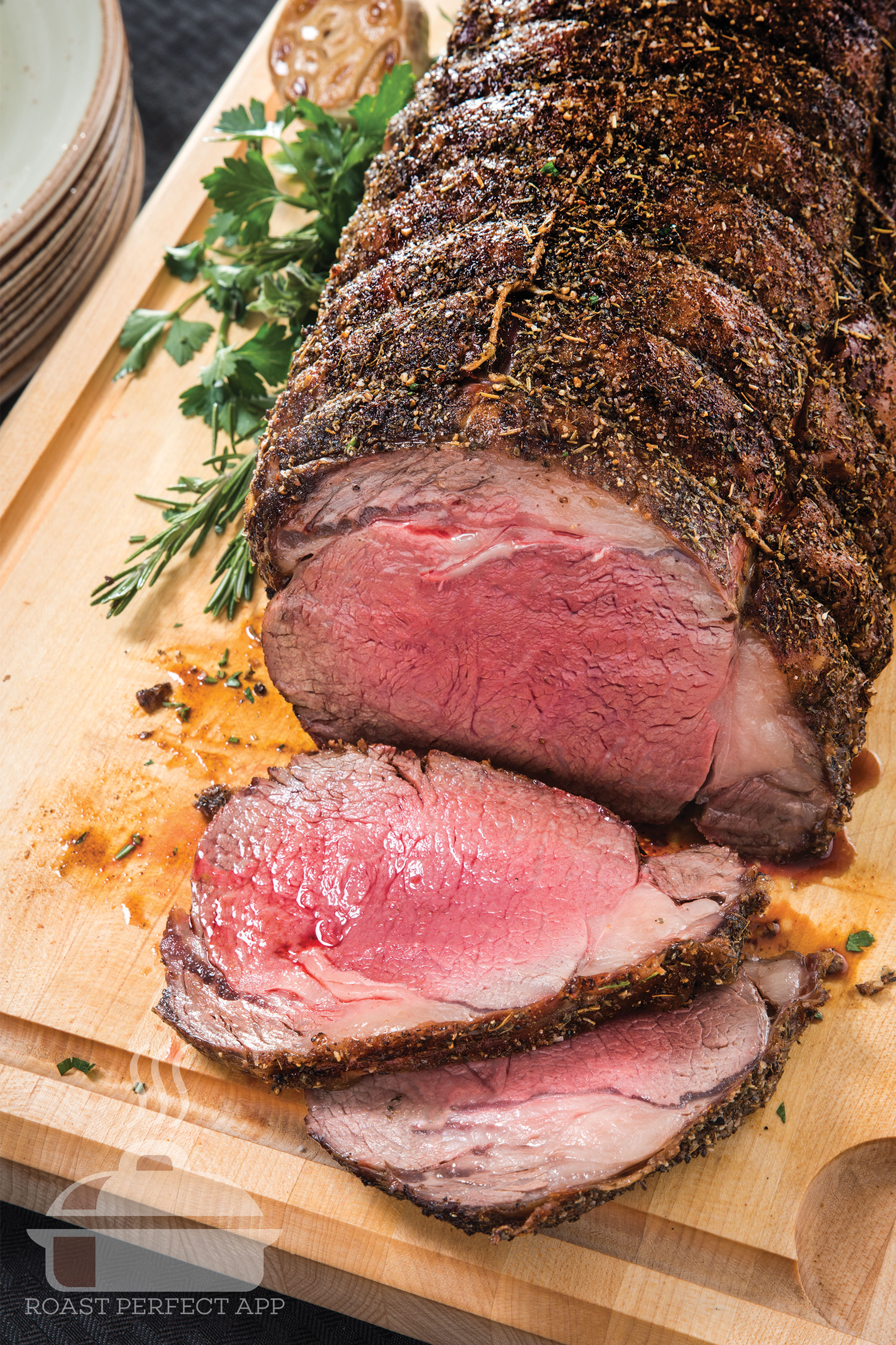 Download the Roast Perfect app today, for sensational holiday meals!