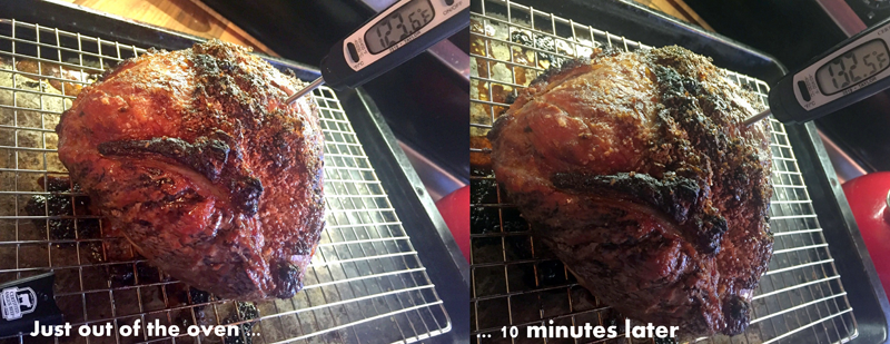 Beer and Brown Sugar Marinated Ball Tip Roast
