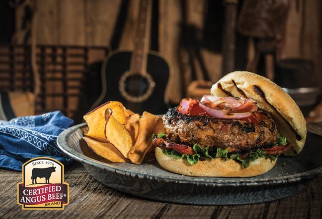 Better Bacon Cheddar Burger