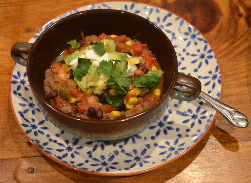 Southwestern Beef and Bean Stew is a quick and delicious weeknight family favorite!