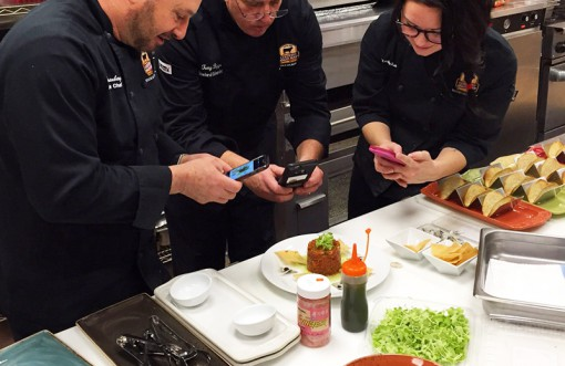Chefs are encouraged to 'play' with food at the Certified Angus Beef Education & Culinary Center.