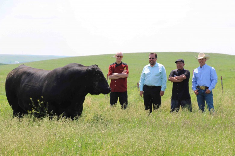 trading places, chefs and ranchers