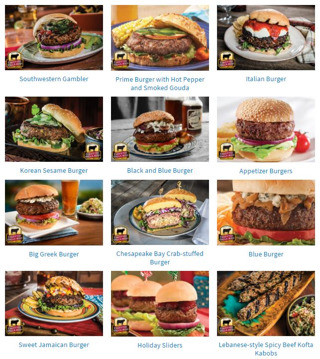 Burger Month options