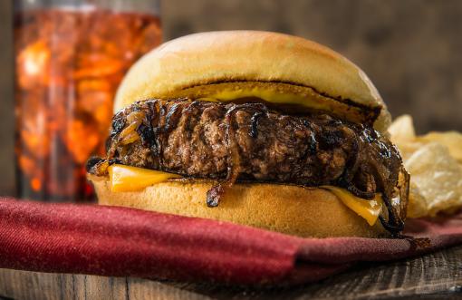 Oklahoma Onion Griddle Burger