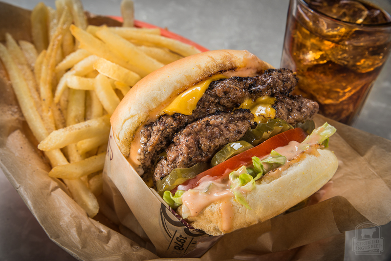 Classic Cheeseburgers from theCertified Angus Beef brand