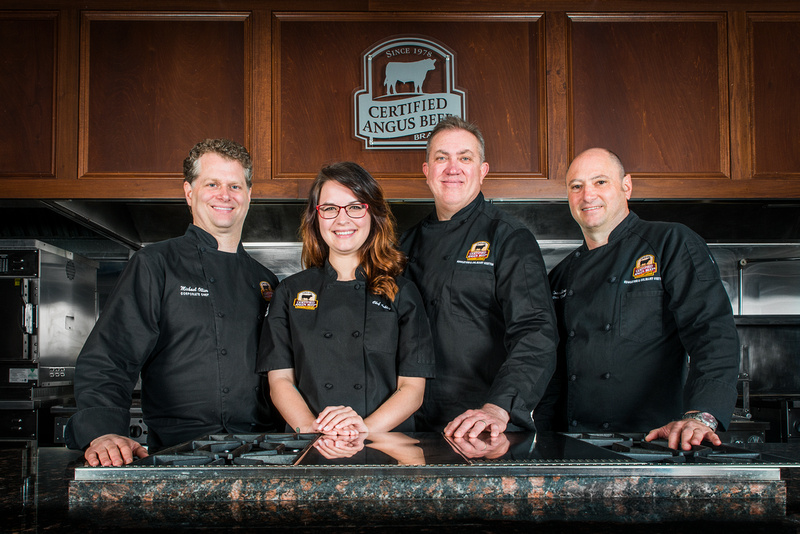 Certified Angus Beef Education & Culinary Center team includes Chef Ashley Pado who will compete on Chopped, July 5, 2016.