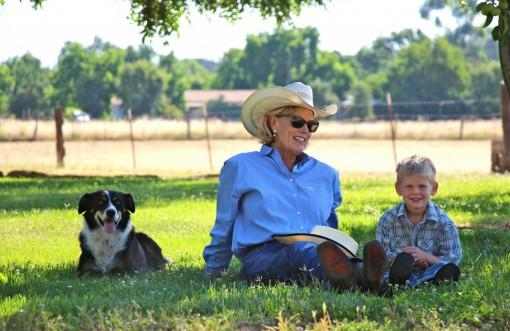 Ike, Abbie and grandson, Jhett.