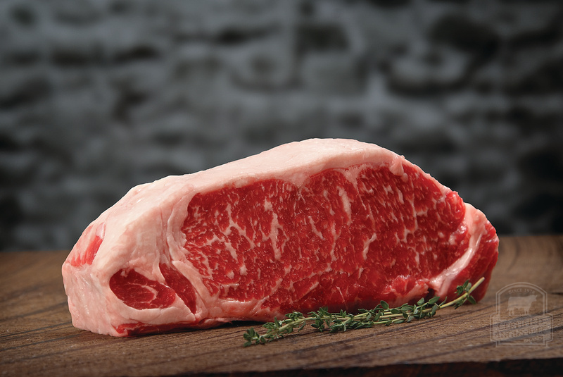 Tender, juicy strip steak is a force to be reckoned with!