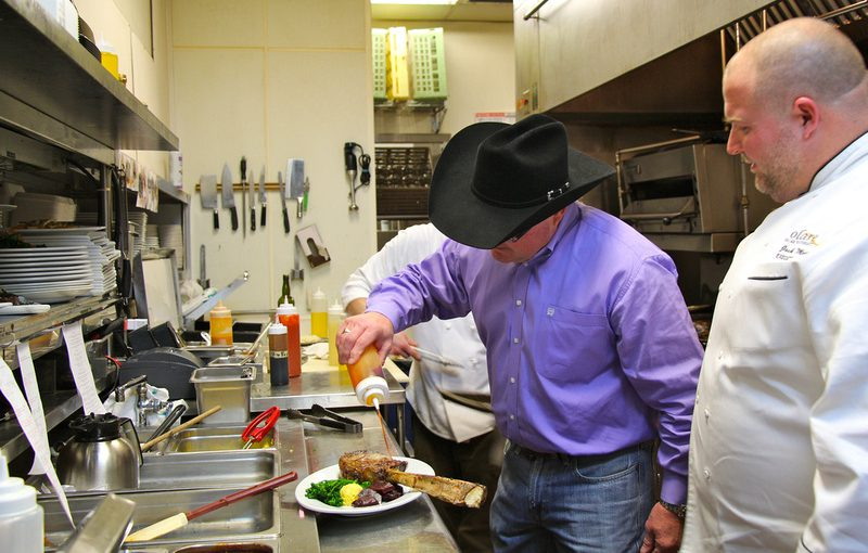 Trading Places In Kentucky: Chef and Rancher