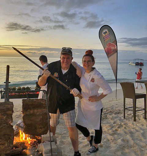 Blaze of Glory: Barefoot Beaches and Sizzling Beef Barbecue
